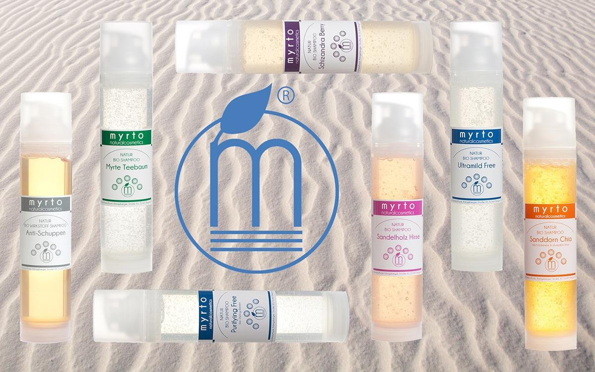 myrto bio shampoo am Strand
