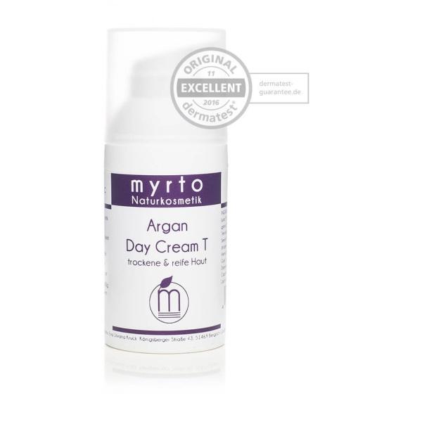 Organic Argan Day Cream T Dermatest - dry skin Font view