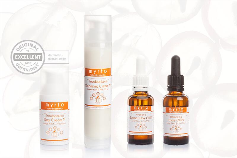 Gesichtspflege ohne Palmöl für sensible Haut