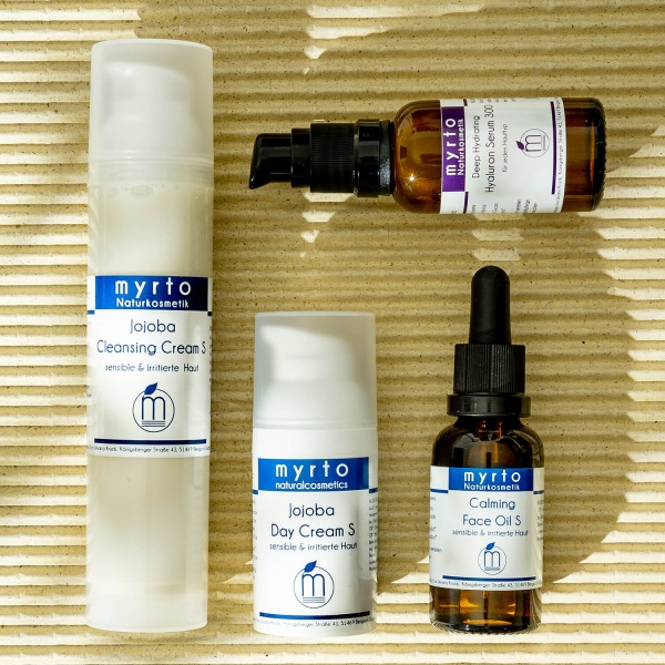Sensitive Skin - Organic Beauty Essentials Face Care Set