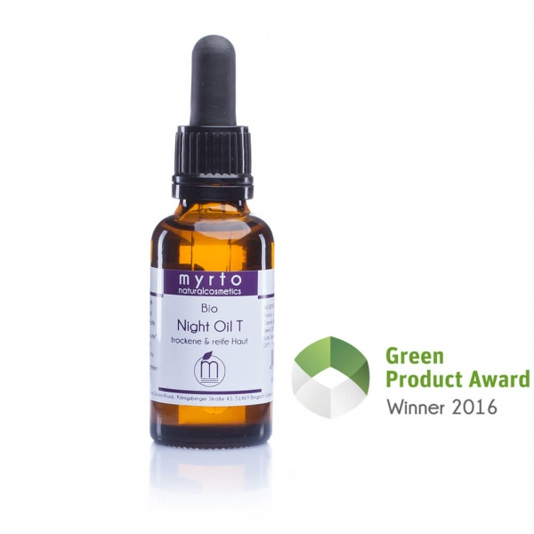 Premium Organic Night Oil T für dry & mature skin