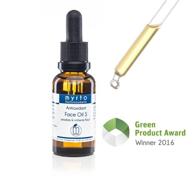 Premium Bio Nachtoel S für empfindliche und irritierte Haut