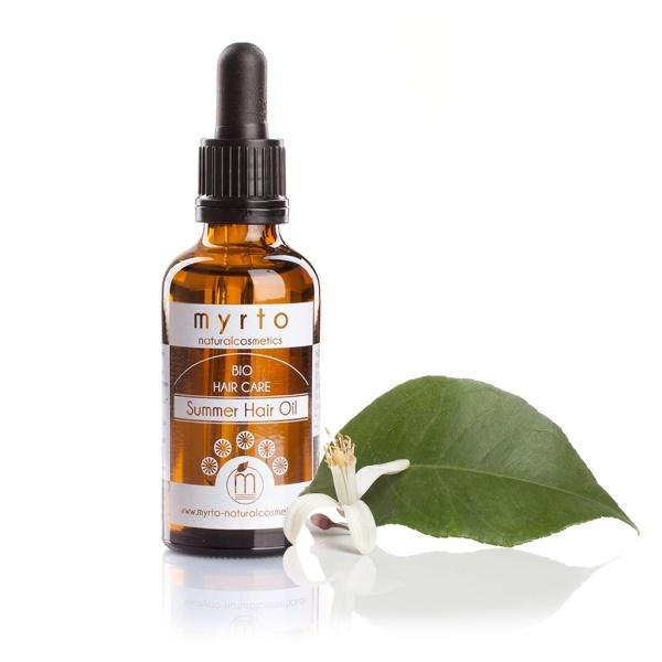 Organic Summer Hair Oil